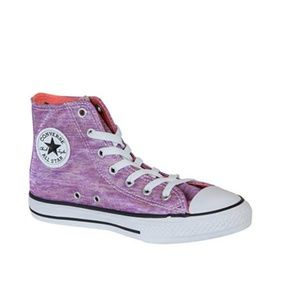 Converse All Star Bright Violet High Top Shoe